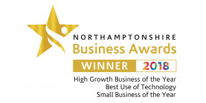 Northamptonshire Business Awards Finalist 2018