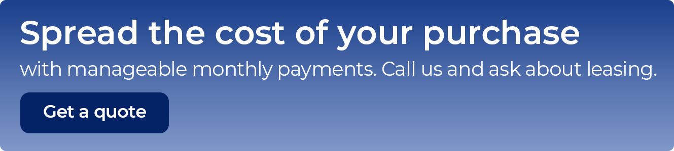 Spread the cost with manageable payments
