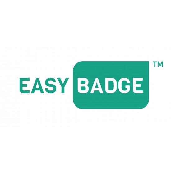 EasyBadge Pro Single Sided IDP Smart 31S ID Card Printer ID Printer Bundle