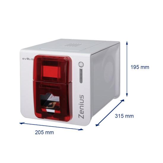 Evolis Zenius Printer Bundle with consumables