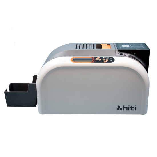 HiTi CS-200e printer with bundle contents