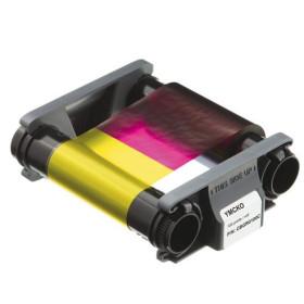 Evolis Badgy200 CBGR0100C YMCKO Colour Ribbon 100 prints