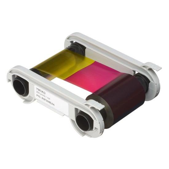 Evolis R5F008EAA YMCKO Colour Printer Ribbon 300 prints