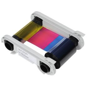 Evolis R5H004NAA YMCKO Colour Half Panel Ribbon 400 prints