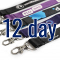 Dye Sublimation Lanyards Express Service 7 Day Delivery