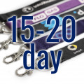 Dye Sublimation Lanyards 15-20 Day Delivery