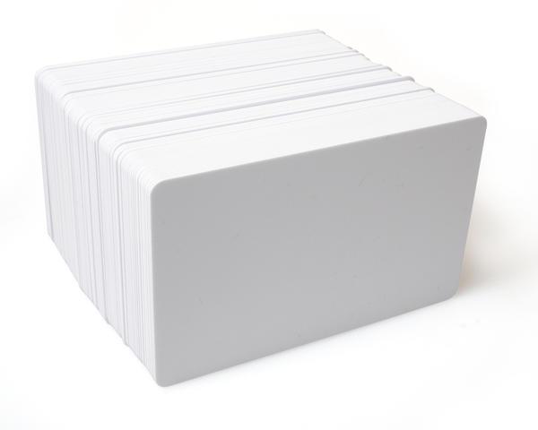 An image of Plain White PVC Cards - T5557