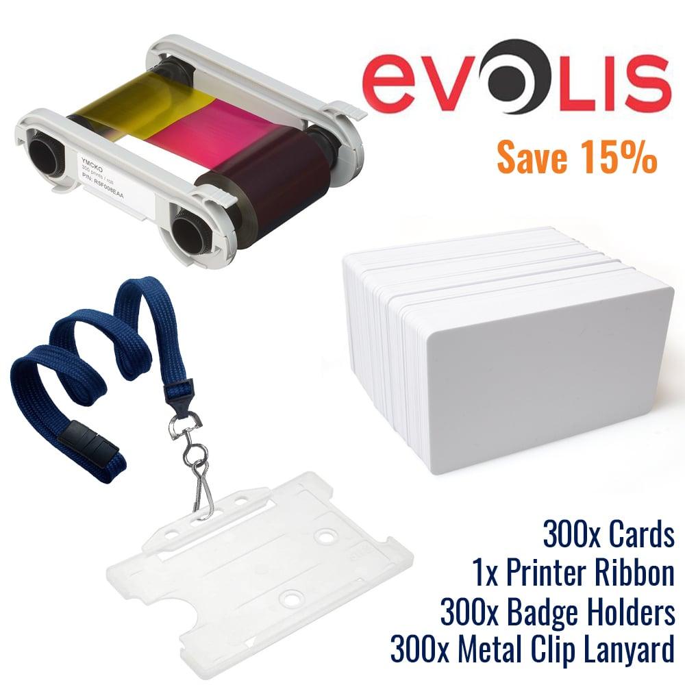 An image of Evolis Consumables Premium Bundle