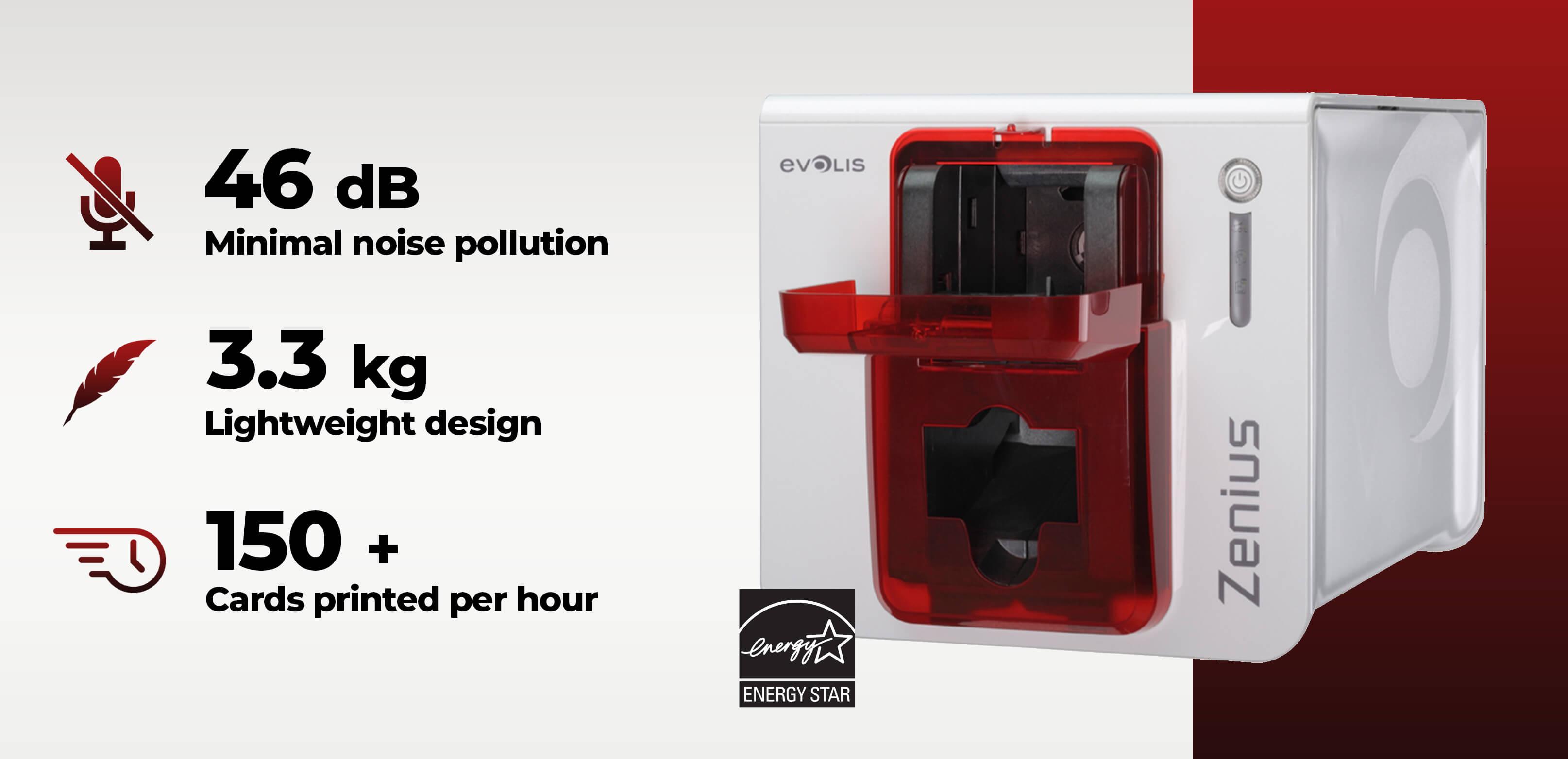 Zenius Classic Printer Specification