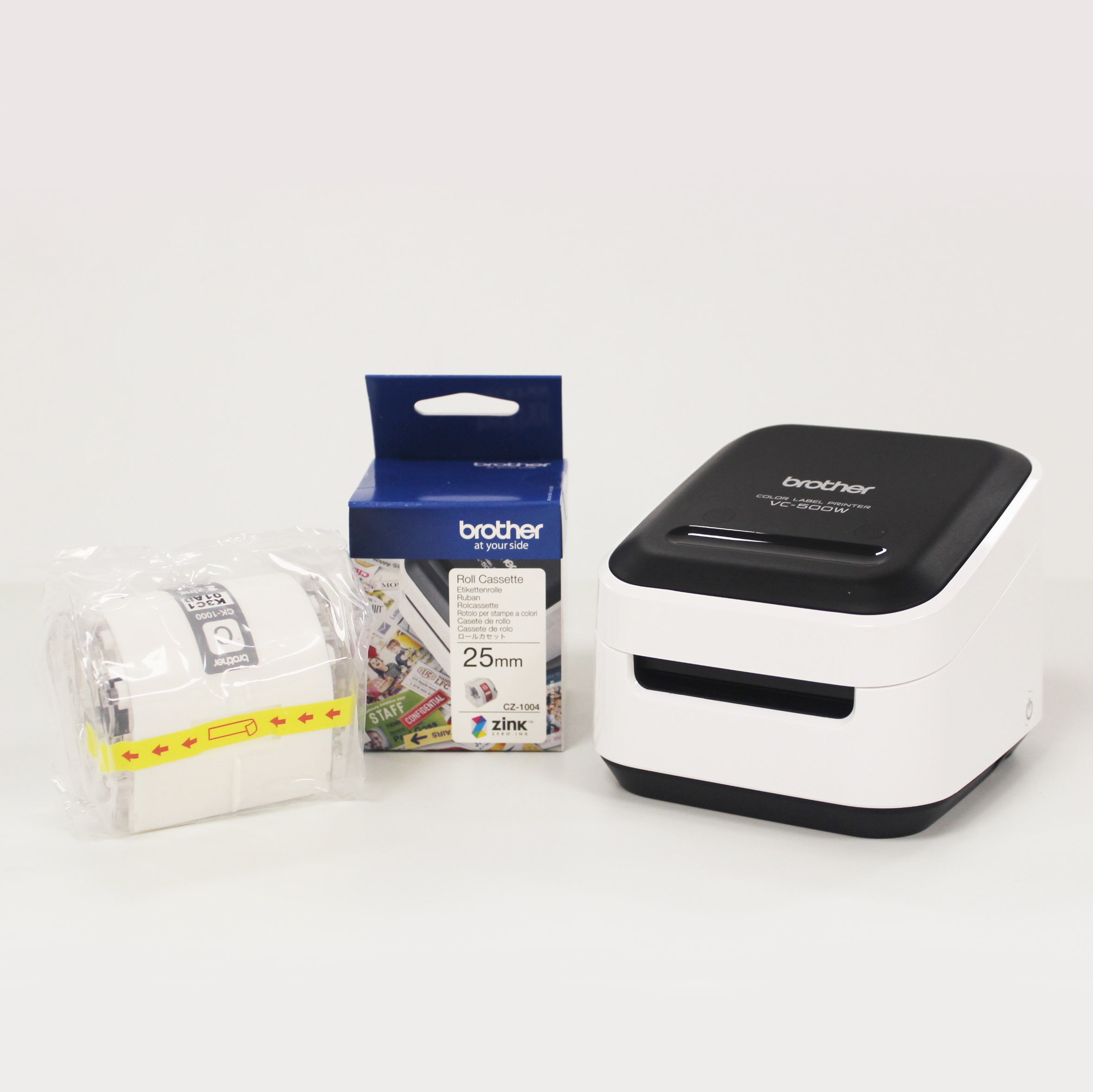 Brother VC-500W with Consumables