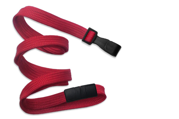An image of 10mm Plain Lanyard with Plastic Dog Clip - 10 Colours available - Pack of 25
