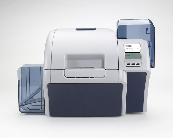 An image of Zebra ZXP Series 8 Re-Transfer ID Card Printer - DISCONTINUED