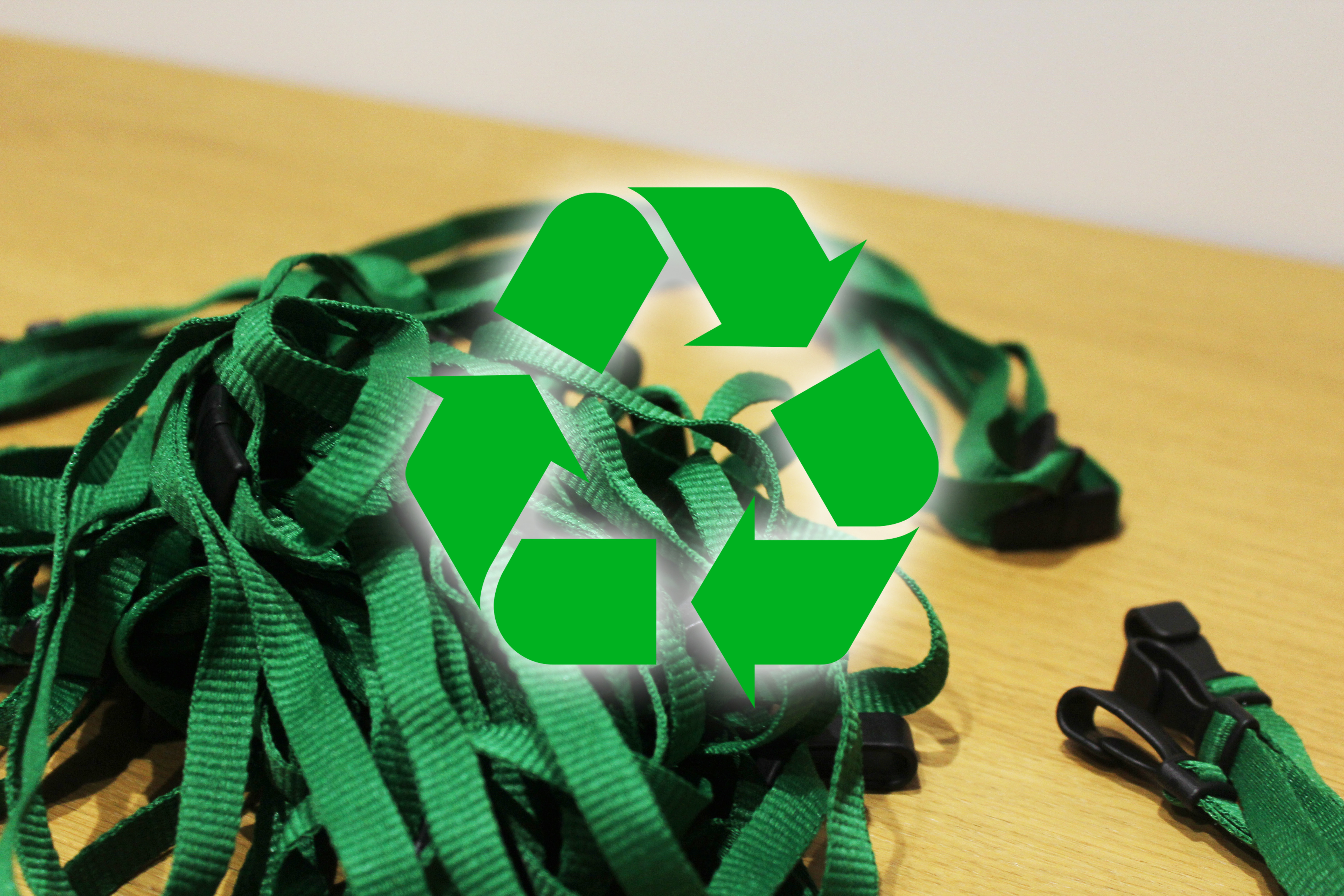 An image of Lanyard Recycling