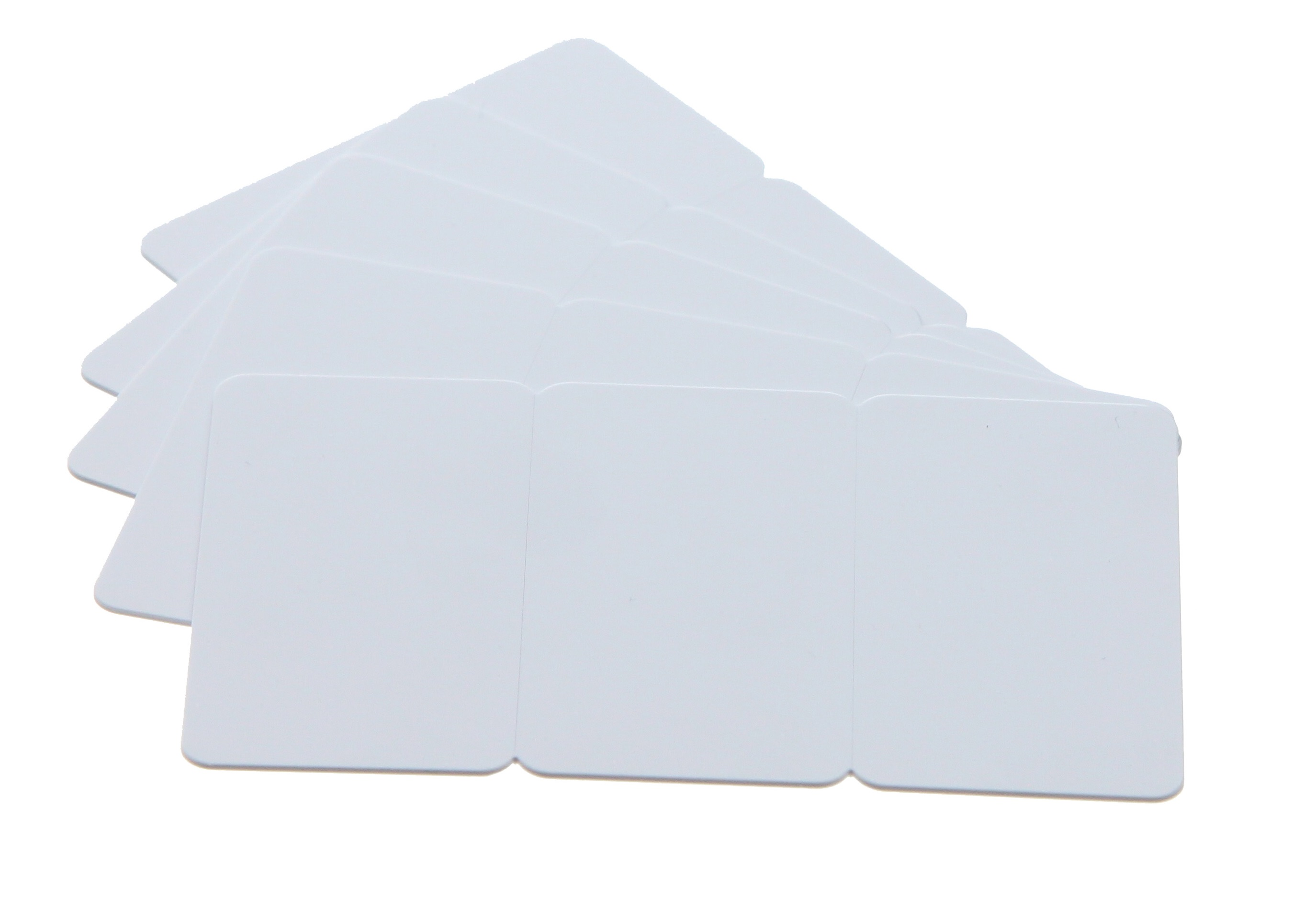 An image of 3TAG CARDS - 30MIL - White - Certified Food Safe - Pack of 100