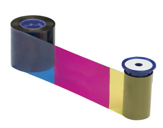 An image of Datacard SD160 534100-003 YMCKFT Colour Ribbon