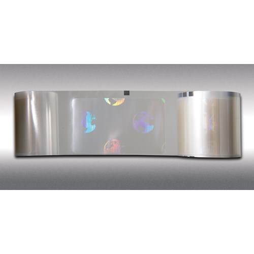 An image of Magicard M9007-247R 0.6mil Holographic Patch Laminate Film