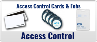 Access Control Cards and Fobs