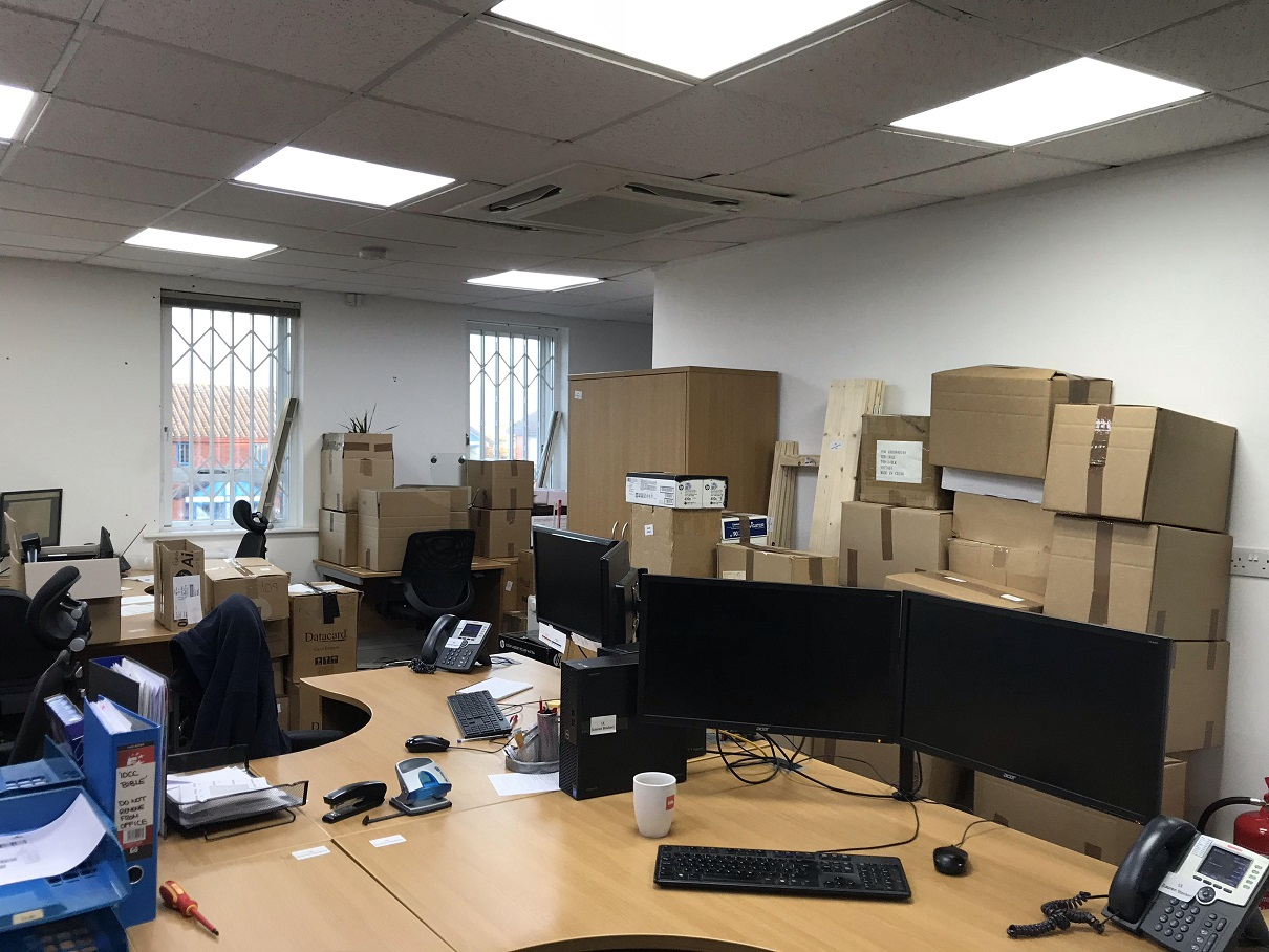 Scirocco Close Office Packed