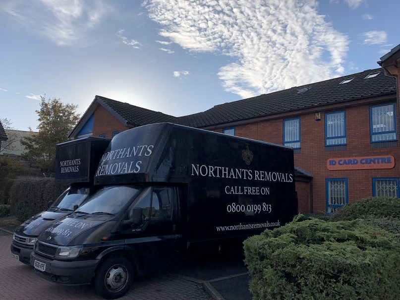 Northants Removals at Scirocco Close early